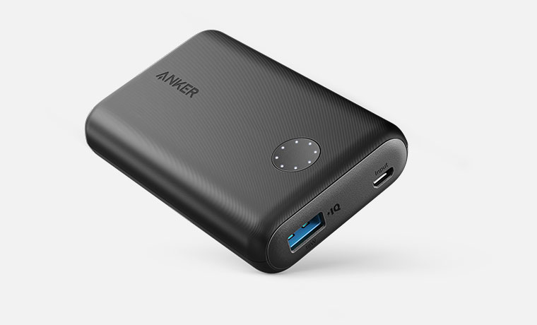 anker portable charger how to charge